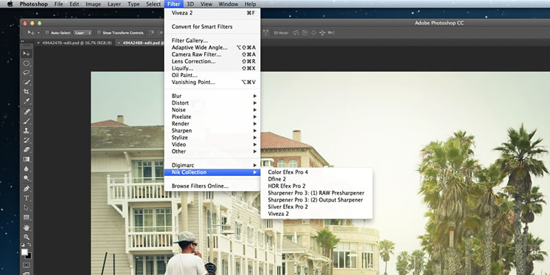 Installing the Nik Collection in Photoshop CC