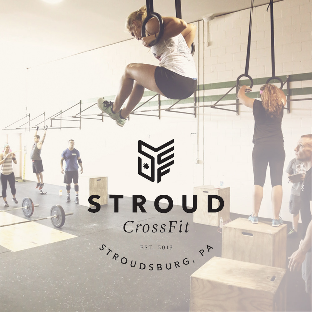 New CrossFit Logo Design For Stroudsburg Based Gym