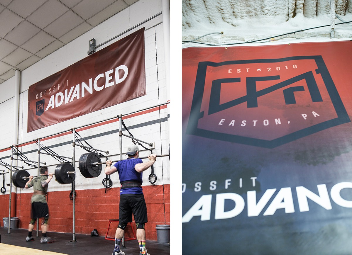 Logo design for CrossFit Advanced