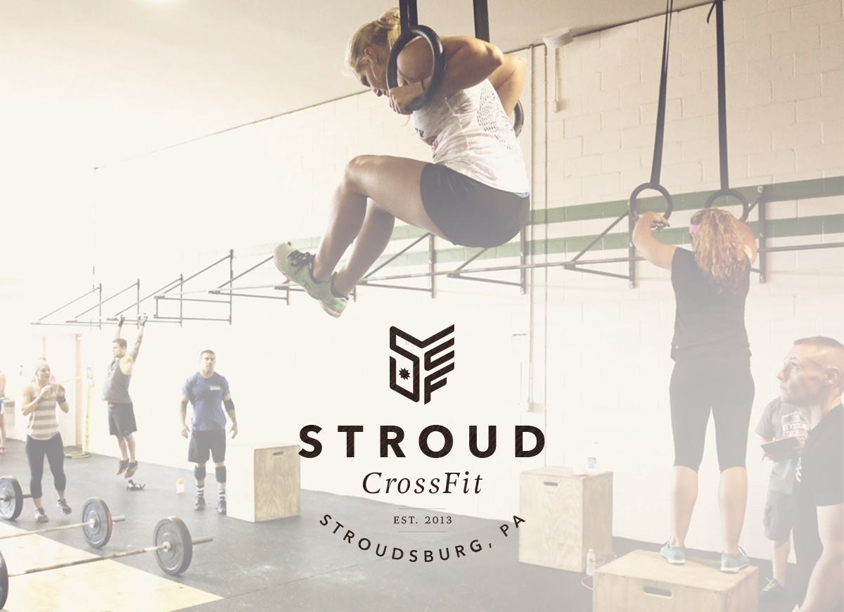 Award-winning logo design for Stroud CrossFit