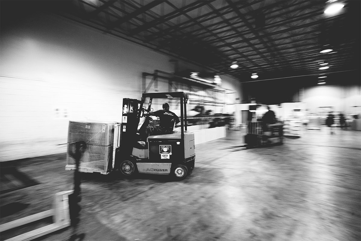 Blue Eagle Logistics candid photography