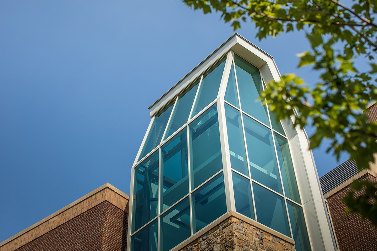 Photography of Moravian College project for Iron Hill Construction Management