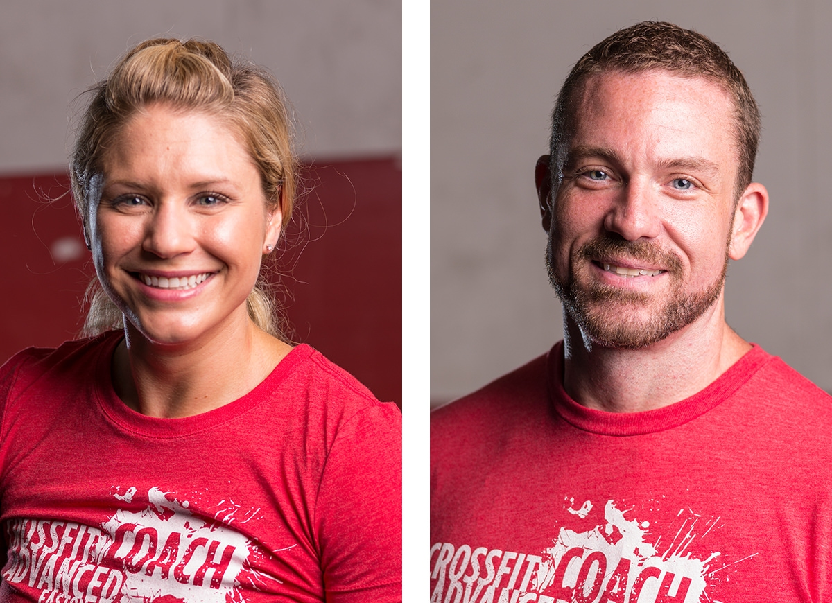 Team headshots for CrossFit Advanced