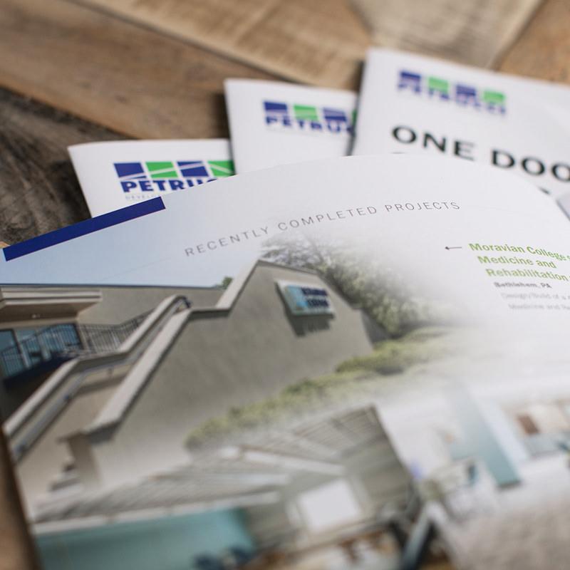 Custom Magazine Style Newsletter Design For Commercial Builder