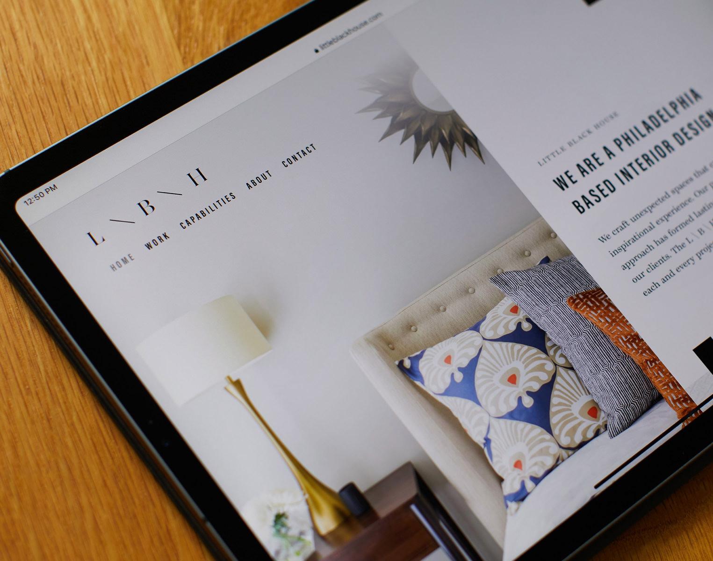 New website for Philadelphia based Interior Design Company