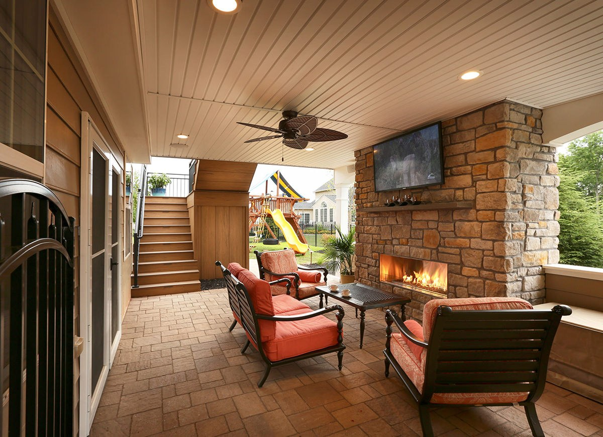Project photography for MasterPlan Outdoor Living