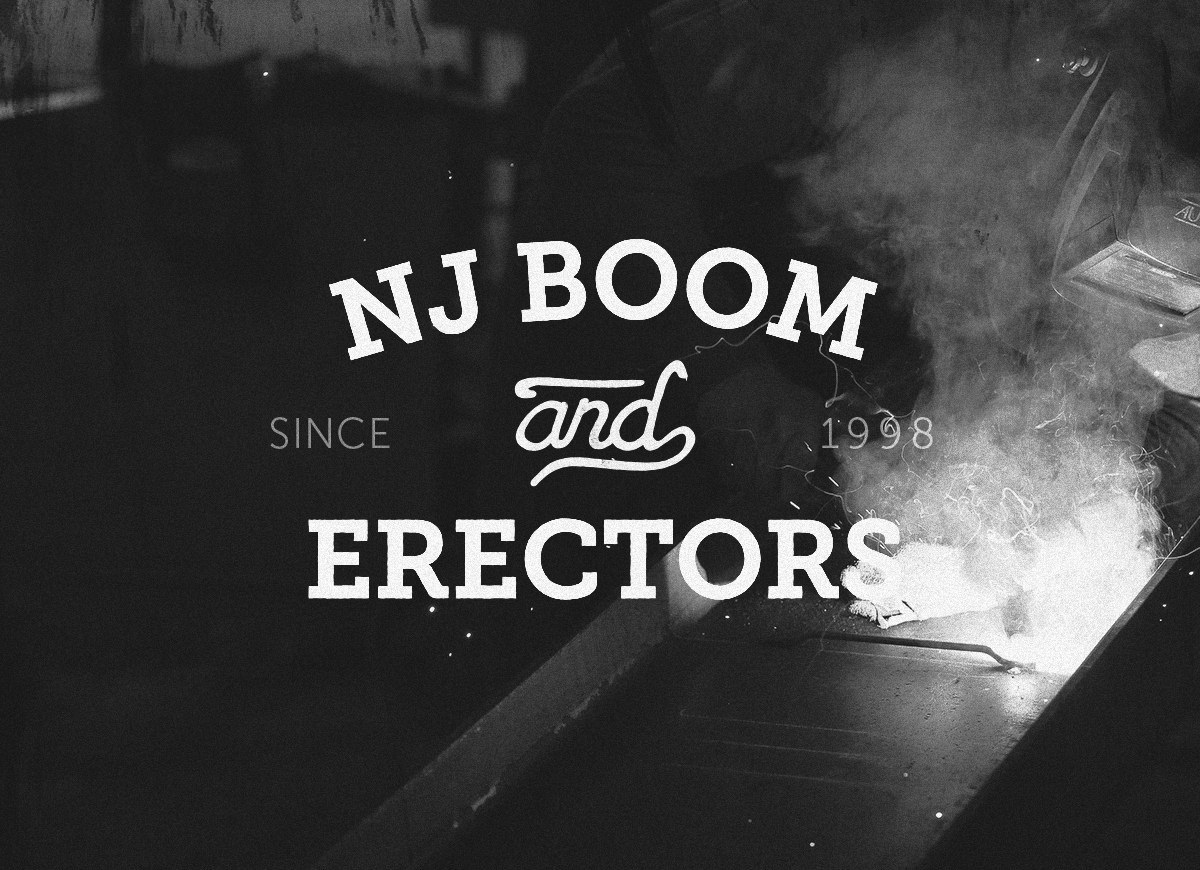 Logo design for NJ Boom & Erectors