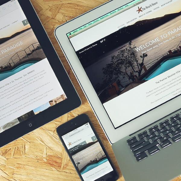 Gorgeous Virgin Islands Villa Website Up And Running