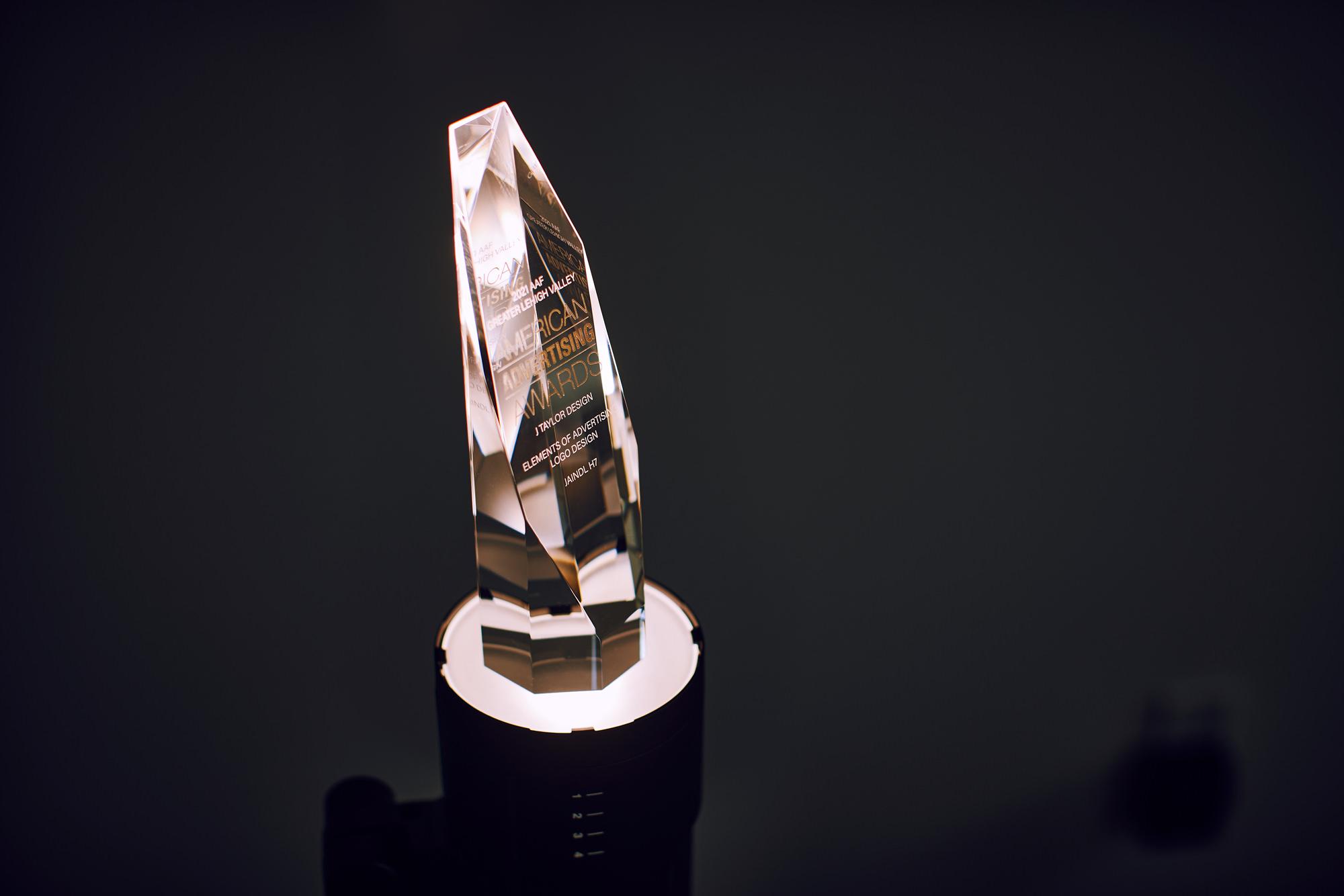 Jaindl H7 Logo Design Wins Gold American Advertising Award