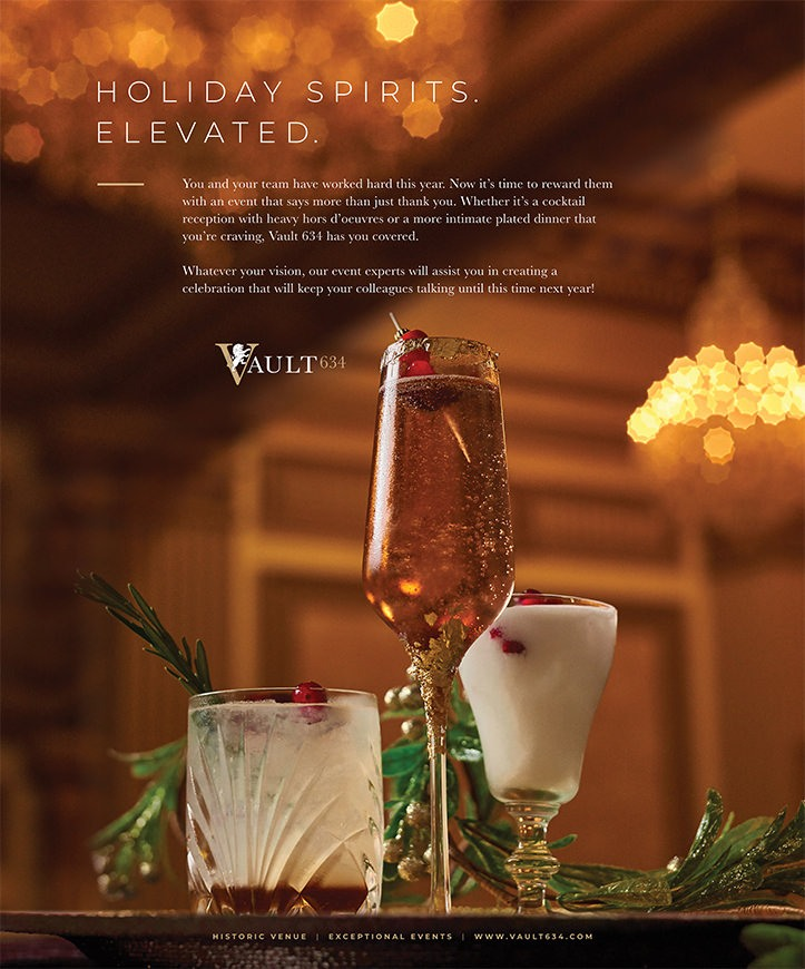 Photography & Magazine Ad Design for Vault 634