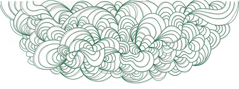 Free Colorful Waves Illustrator File